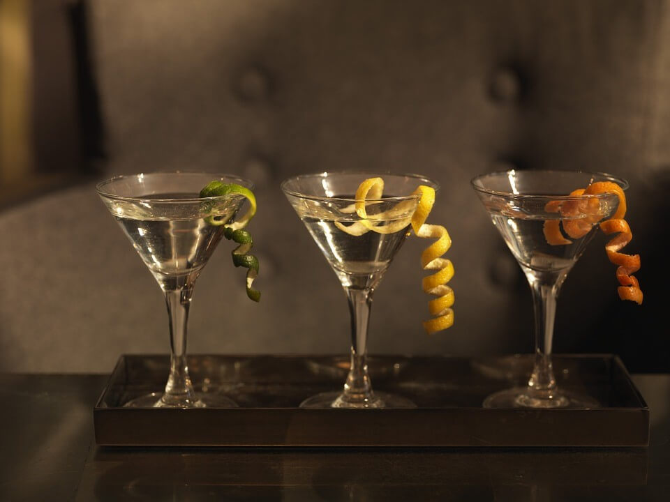customized martinis